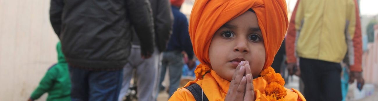 Young Sikh Boy with Turban